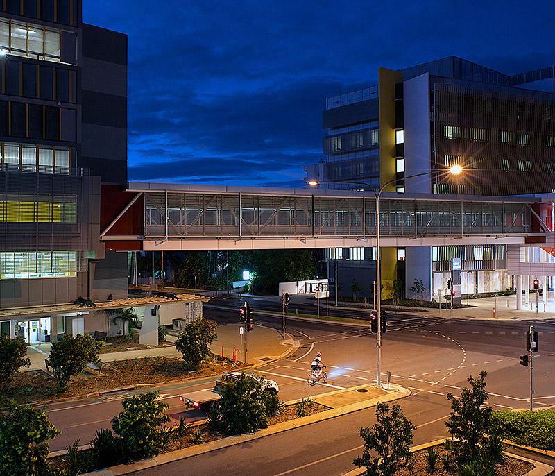 Cairns Base Hospital Link Bridge