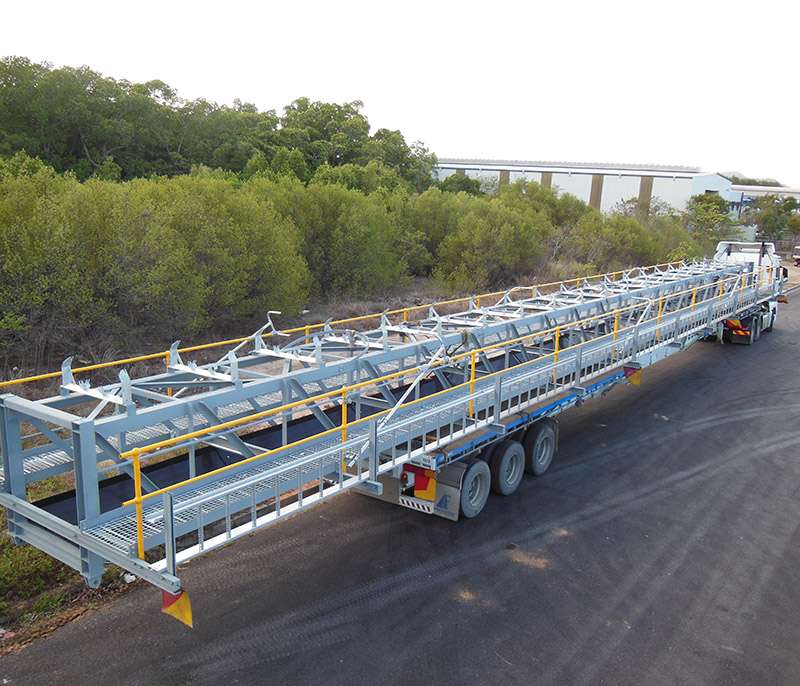 Lake Vermont Mine Coal Handling Conveyors