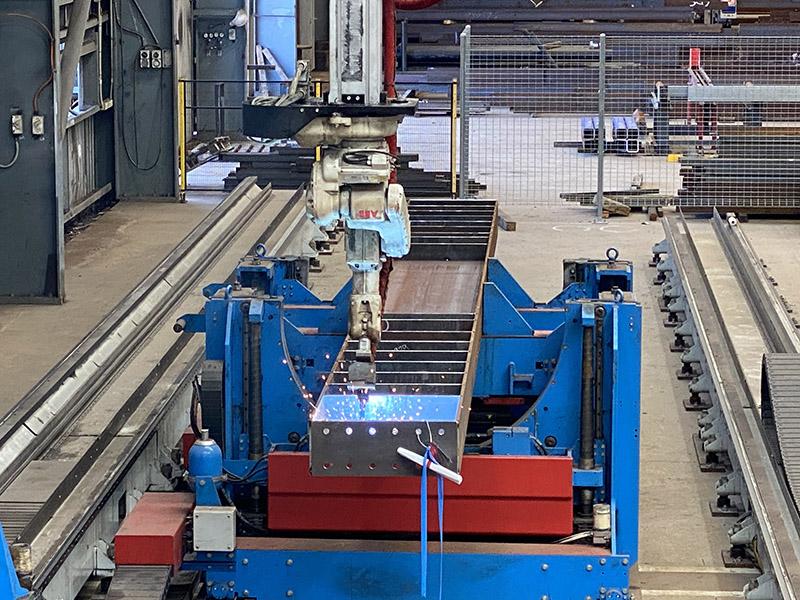Zeman SBA Fabrication Robot
