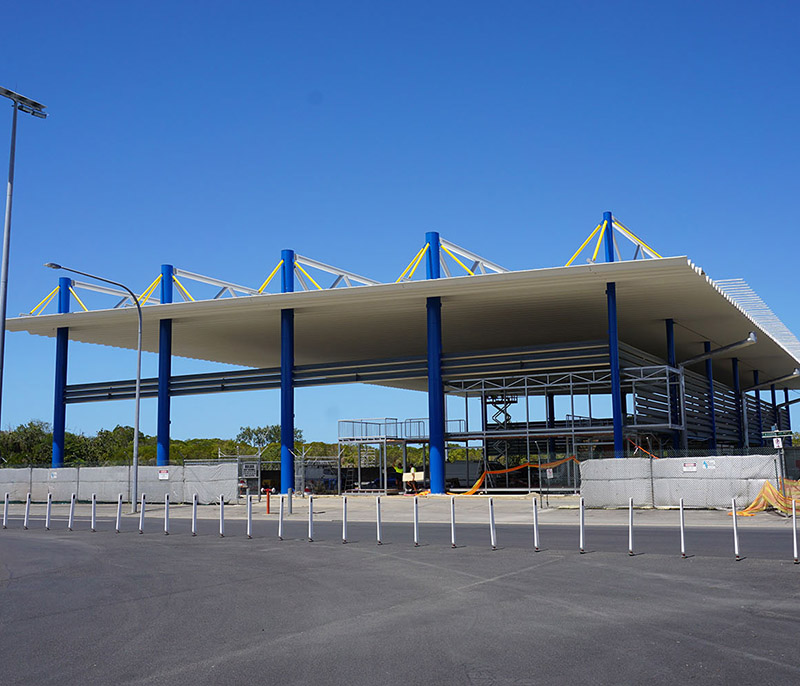Combined Structural Steel & Roofing