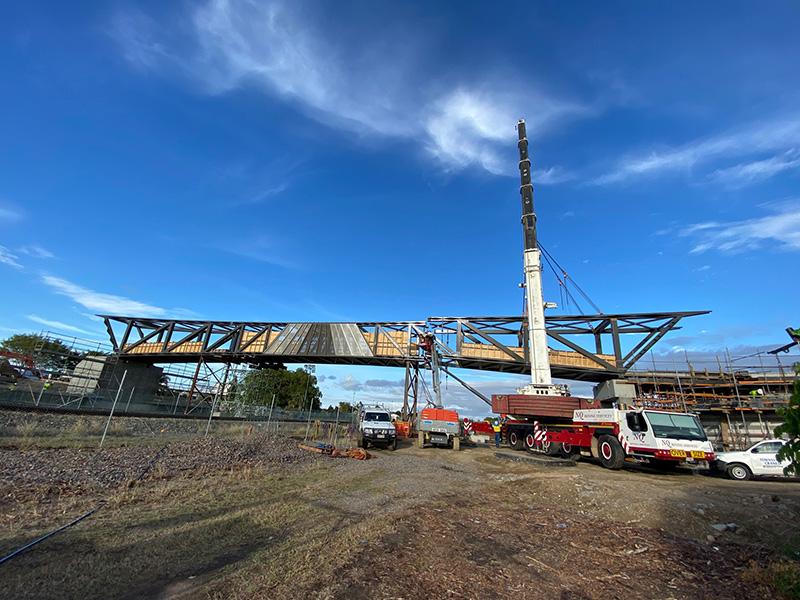 Townsville Country Bank Stadium Stadium Link Bridge